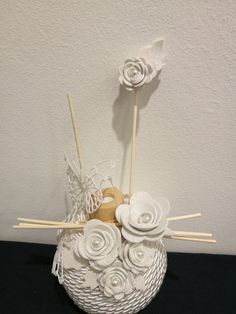 Shabby Chic Christmas, Angelo, Doilies, Incense, Crafty, Weddings, Flowers, Home Decor, Desk Arrangements