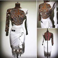 Dream latin dancesport costume dress!!! Great one by #AbrahamMartinez , worn by #SvetlanaGudyno !
