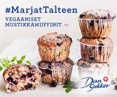 Vanilja-mustikkapulla (piirakka ja pikkupullat) | Reseptit | Kinuskikissa