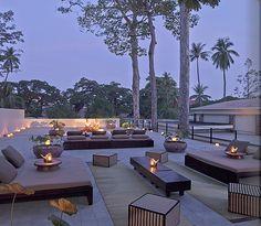 Angkor Wat Luxury Resort Photo Album and Hotel Images - Amansara - picture tour Best Hotel Deals, Best Hotels, Menorca, Angkor Temple, Angkor Wat, Villa, Terrace Design, Terrace Decor, Rooftop Terrace