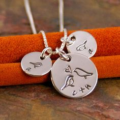 Hand Stamped Mommy Necklace   Personalized by IntentionallyMe, $43.00