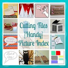 Cutting File Picture Index