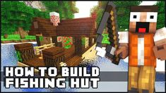 Minecraft House Tutorial: Small Fishing Hut (+playlist)