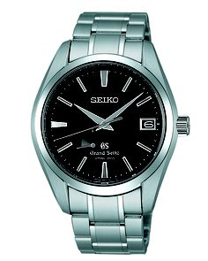 Grand Seiko, Spring Drive GMT Watch, with 30 jewels and stainless steel accent, SBGA003  www.SeikoUSA.com