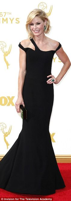 Visions in black: Julia Louis-Dreyfus, Julie Bowen and Amy Poehler were classic Hollywood ...