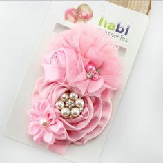 Retail Fashion Infant Toddler Baby Headbands girl flower with rhinestone head band kids https://t.co/r8ZOYQTso6 https://t.co/CSRvHc0Gg5