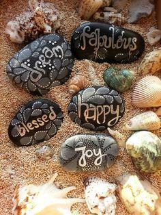 dream-blesded-happy-joy-fabulous ,,, painted stone sydn_art