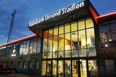 Het Rabobank IJmond Stadion is de thuisbasis van SC Telstar - De Witte Leeuwen uit Velsen-Zuid