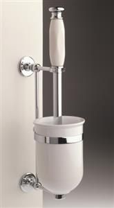 Our Toilet Roll Holder or Toilet Paper Holder and our Toilet brush and holder are of the finest quality and made in England.   www.priorsrec.co.uk