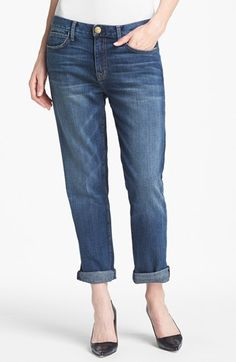 Current/Elliott 'The Fling' Rolled Jeans (Loved) available at #Nordstrom