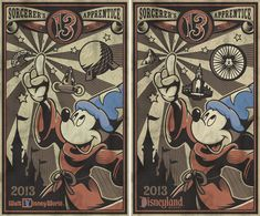 Spotlight on 2013 Posters for July, August and September from Disney Design Group, With the start of summer, I'm turning the spotlight on the next series of 2013 posters from the Disney Design Group. This talented art department of Disney Theme Park Merchandise created a series of posters for an oversized 2013 calendar (you can find the Walt Disney World Resort version on the Disney Parks online store). You may recall my previous articles featuring posters for January through March and...