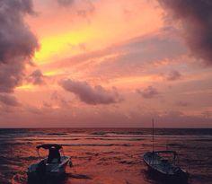 Playa del carmen sunset