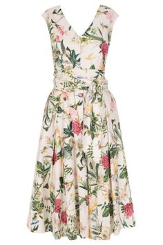 Vestido Midi - Vestido Midi Floral Regina   Amissima