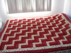 Picket Fence Quilt I made for Amber