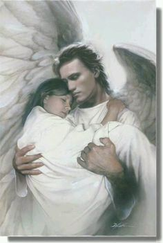 An angel carrying me