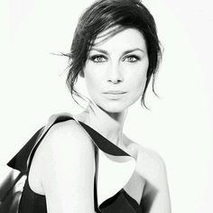 A wonderful black and white #CaitrionaBalfe for Emmy Magazine . #Outlander #OutlanderStarz #OutlanderSeries #photoshoot