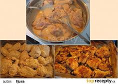 Řízky v jogurtu (pečené v troubě) recept - TopRecepty.cz Czech Recipes, Russian Recipes, Ethnic Recipes, Home Food, Poultry, Lamb, Main Dishes, Seafood, Pork