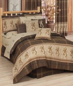 SouthernSistersDesigns.com - Browning Buckmark Comforter Bed Set, $128.95 (http://www.southernsistersdesigns.com/browning-buckmark-comforter-set/)