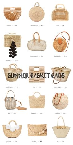 The French Market Bags That Are Perfect For Summer — Hazel + Scout