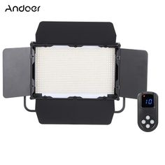 (153.99$)  Buy here - http://aivlw.worlditems.win/all/product.php?id=D3810EU - Andoer Adjustable Brightness 1040pcs LED Beads CRI 95+ 7680LM 5600K DMX512 Video Studio Photography Light Lamp for Canon Nikon Sony Camera Camcorder