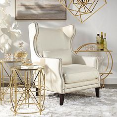 Easy Home Decorating Ideas for your home with color, furniture and accessories. Home decor tips to design your living room, bedroom, bathroom Classic Home Decor, Elegant Home Decor, Elegant Homes, Gold Home Decor, Home Interior, Decor Interior Design, Furniture Design, Luxury Interior, Modern Interior