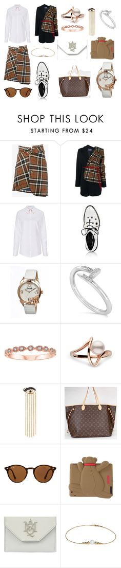 """Untitled #22"" by jiyun1222 on Polyvore featuring Jacquemus, VIVETTA, Proenza Schouler, Bertha, Allurez, Sydney Evan, Louis Vuitton, Ray-Ban, Moschino and Alexander McQueen"