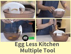 An egg-less tool make your kitchen easyand fun. Egg cracking is one of the annoying thing while cracking egg into a bowl. With this tool crack egg into bowl Egg Recipes, Healthy Recipes, Healthy Food, Cracked Egg, Boiled Eggs, Nutrition, Tools, Make It Yourself, Countertop