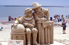 This sculpture won first place in a 2005 contest on Revere Beach.