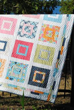 Baby or Lap Quilt Pattern Layer Cake or Fat Quarters by sweetjane, 12 FQ or 31 Layer Cakes