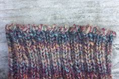 Have a Yarn - August 2005 - Stitch of the Month - Channel Island Cast-On