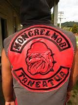 New Arrived Custom Large Biker Clubs, Motorcycle Clubs, Bike Gang, Real Gangster, Mongrel, Red Vs Blue, Cut And Color, New Zealand, Patches