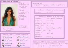 Kim Kardashian's MySpace Page From 2006 Is Still Online… And It Will Make You Cringe