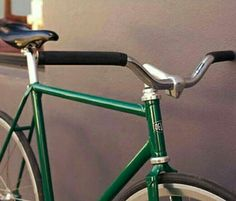 Fixit bicicleta  cromo y verde