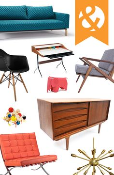 Mid-Century Modern Furniture & Décor | dotandbo.com