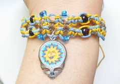 Steal Your Soul Sun Grateful Dead Stealie by sherrishempdesigns, $11.99