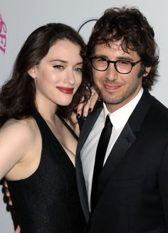 Kat Dennings + Josh Groban. yes. this is a thing. hopefully a thing that lasts a while. i kinda really love it!