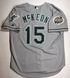 781f30e03 Jack McKeon 2003 Game Issued Florida Marlins World Series Jersey Size 50