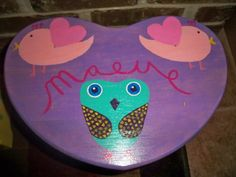 Step Stool Custom Painted for Child or Toddler Personalized Name and Theme