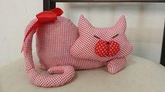 gato peso de porta, muito fofo, passo a passo, muito fácil de fazer e pode ser colocado na porta da frente, de quarto, cozinha etc..