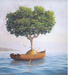 Magic Realism Art by Paul Bond