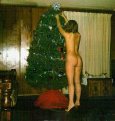 It's beginning to look a lot like Christmas when Darcy decorates the tree.