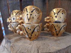 ZESTAW ROGI Mugs, Tableware, Art, Art Background, Dinnerware, Tumblers, Tablewares, Kunst, Mug