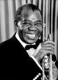 #LouisArmstrong -- #BowTie
