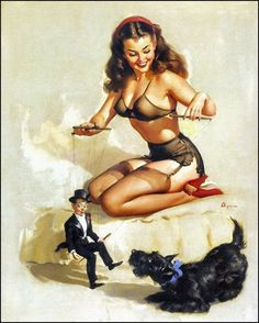 Pin-up  Easy to Handle