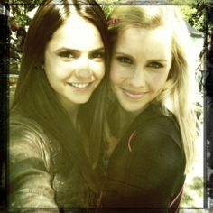 Nina and Claire <3