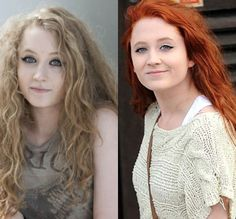 Janet Devlin, from UK's The X Factor. Oh, her hair. And her vocals! She's so good.