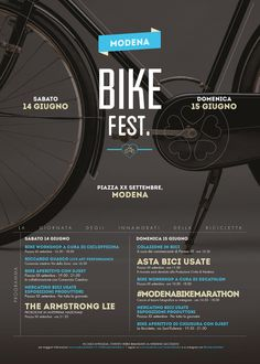 Color Scheme and simple cropped photo....bike event poster design