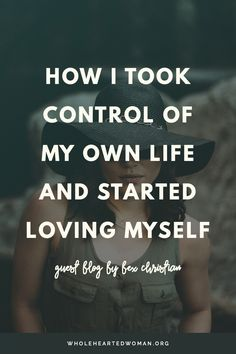 How I Took Control Of My Own Life And Started Loving Myself | Life Advice | Personal Growth | Law of Attraction | Mindset