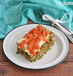 Receta para preparar un nutritivo y equilibrado pastel de verduras. Con fotos del paso a paso y consejos de degustación