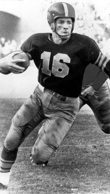 Frank Gifford - #NYG - #USCTrojans NY Football Giants - NFL Hall of fame